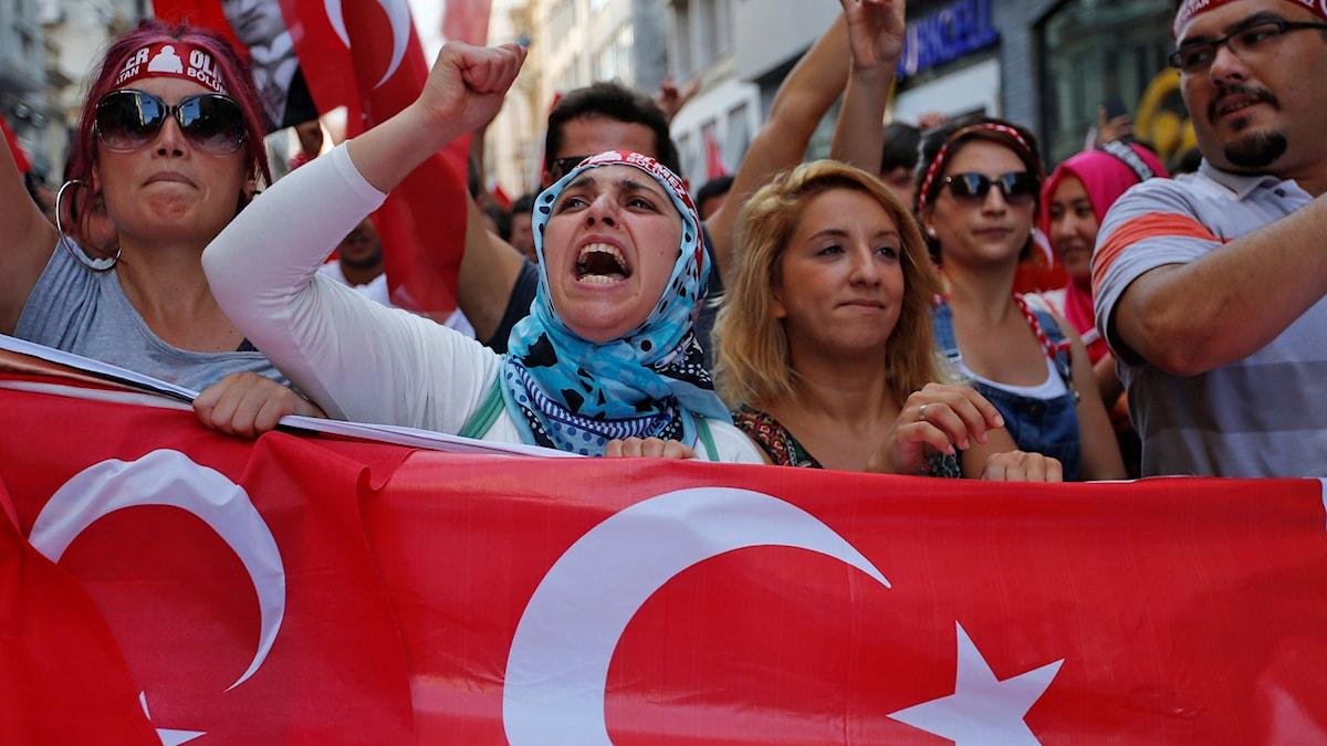 Turkiet. Foto: Emrah Gurel/AP