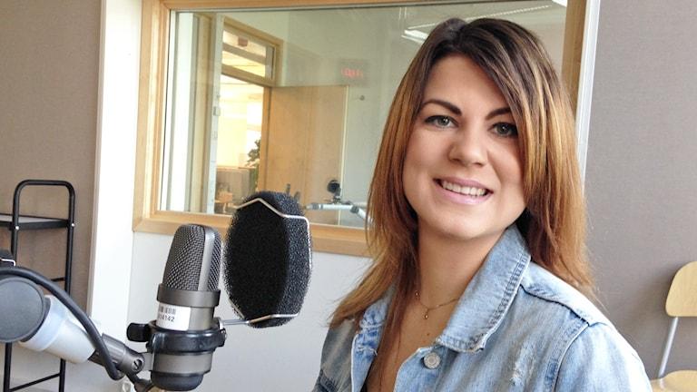 Sandra Hansen. Foto: Lovisa Waldeck/Sveriges Radio