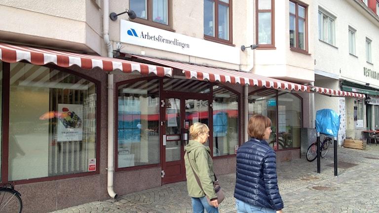 Arbetsförmedlingens kontor i Söderköping stänger den 30 november foto:Maria Turdén/Sveriges Radio
