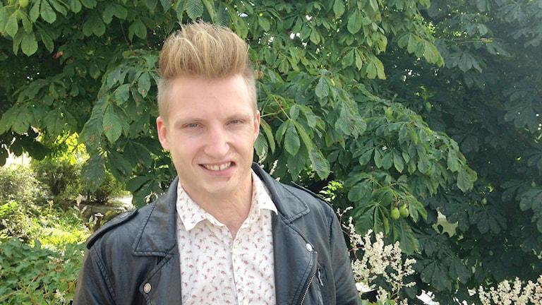Axel Schylström. Foto: Lovisa Waldeck/Sveriges Radio