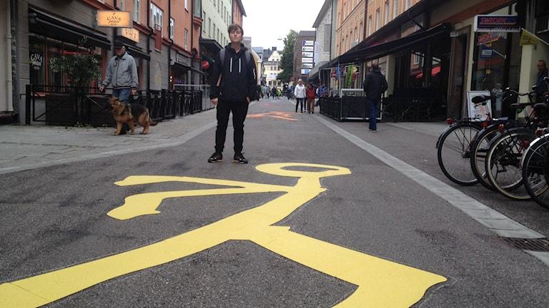 Julius Nord. Foto: Maria Turdén/Sveriges Radio