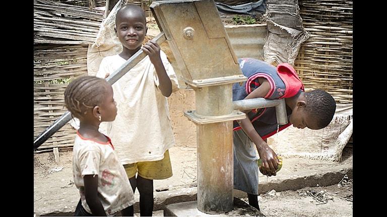 Rädda Barnen i Senegal. Foto: Peter Helperin Världens Barn