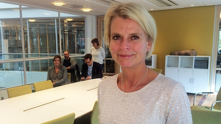 Äldreminister Åsa Regnér (S) Foto: Johan Gustafsson/Sveriges Radio
