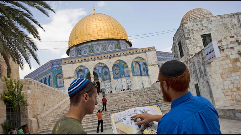 Al Aqsamoskén i Jerusalem.