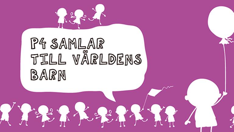 Bild till insamlingen till Världens Barn. Illustration: Sveriges Radio