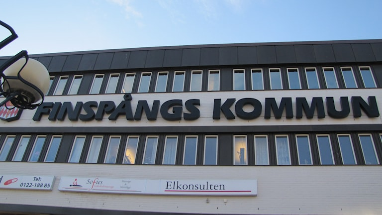 Kommunhuset Finspång. Foto: Rosmari Karlsson/Sveriges Radio