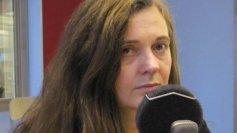 Zenaida Hadzimahovic, facklig representant för Svenska Journalistförbundet på Östgöta Media. (Arkivbild)