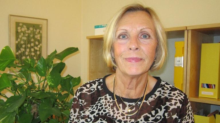 Elisabeth Gustafsson (S) Linköping. Foto: Raina Medelius/Sveriges Radio