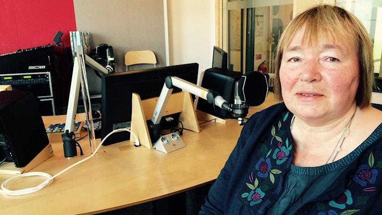 Elisabet Cedersund, professor i äldre och åldrande Foto: Titti Elm Sveriges Radio