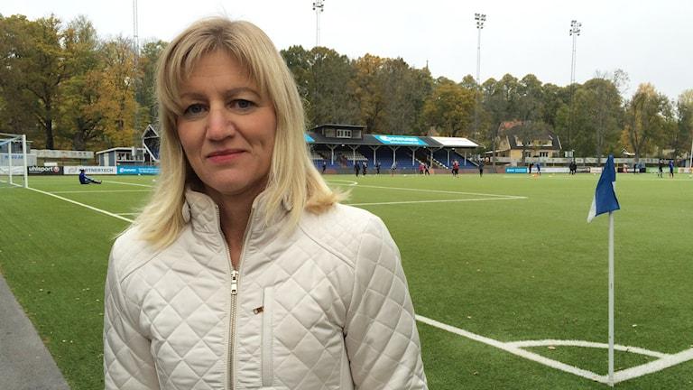 Anette Högström Johansson, ordförande för ÅFF. Foto: Lisen Elowson Tosting/Sveriges Radio