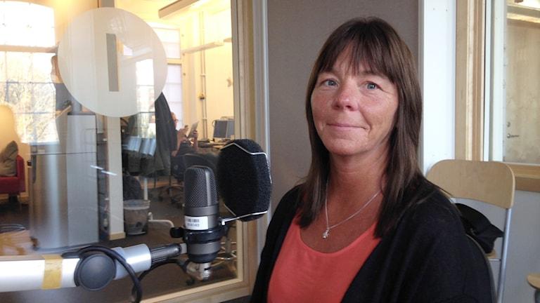 Ingrid Lindström. Foto: Lovisa Waldeck/Sveriges Radio