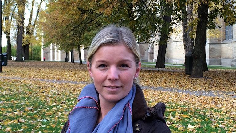 Jenny Eriksdotter. Foto: Rosmari Karlsson/ Sveriges Radio