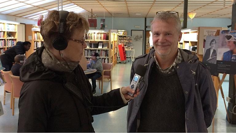 Barnboksförfattaren Martin Widmark. Foto: Rosemarie Karlsson/Sveriges Radio