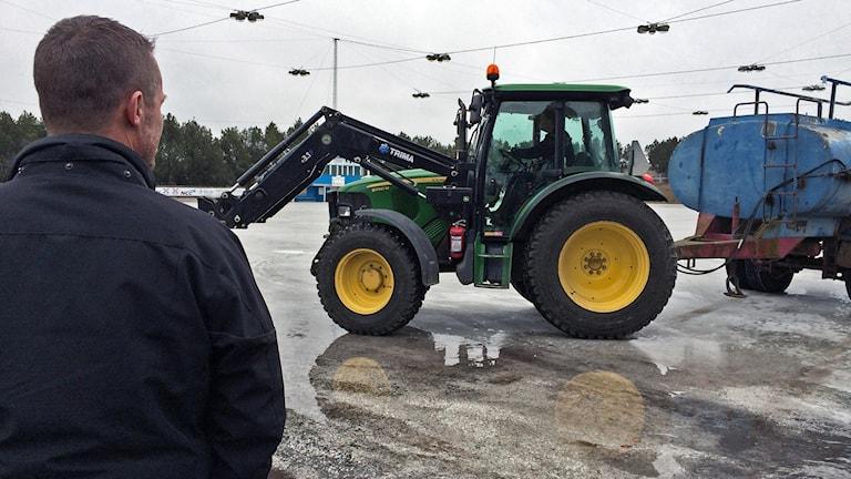 Ismaskin på Himmelstalund. Foto: Lisen Elowson Tosting/Sveriges Radio