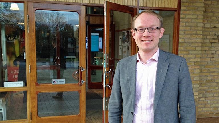 Per Larsson, ordförande för Kristdemokraterna i Östergötland.