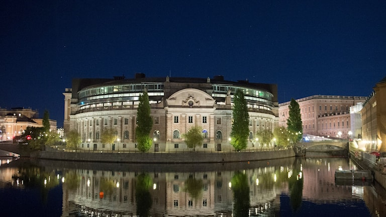 Riksdagshuset. Foto: Fredrik Sandberg/TT