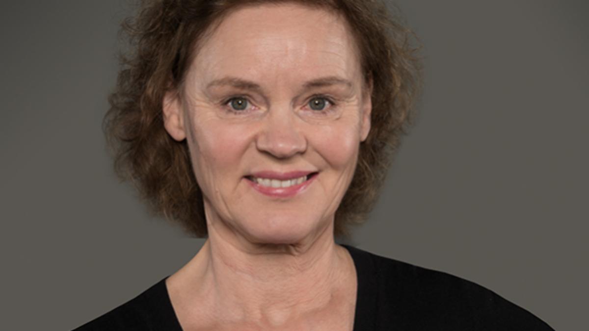 Stina von Sydow har arbetat vid Östgötateatern i nästan 20 år. Foto: Fotografica