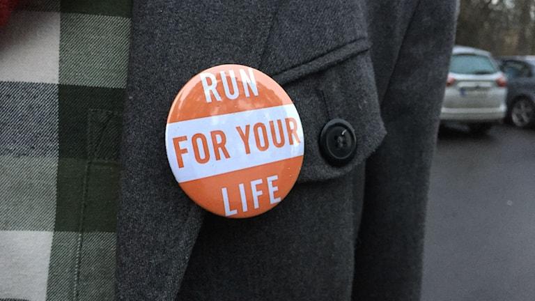 Run For Your Life pågår under 20 dagar och täcker över 400 mil. Foto: Stefan Lindeberg/Sveriges Radio