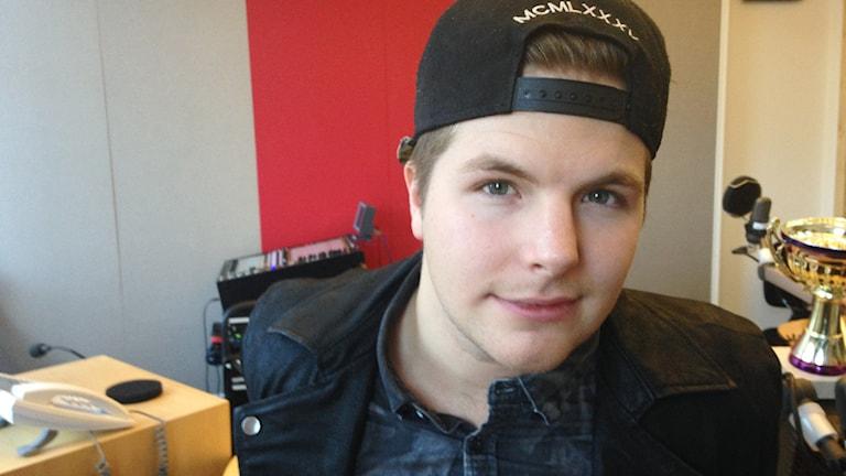 Robin Stjernberg. Foto: Lovisa Waldeck/Sveriges Radio