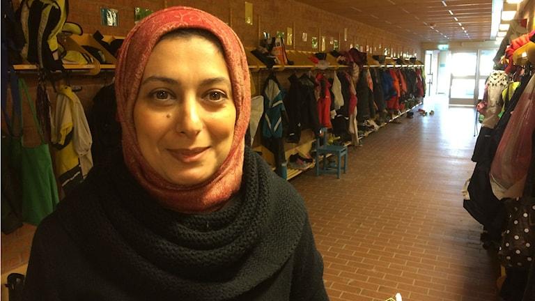 Asylsökande Ahed Adel. Foto: Raina Medelius/Sveriges Radio