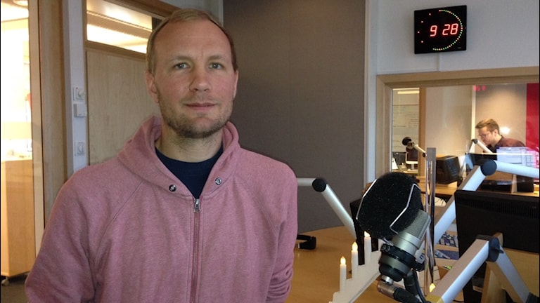 Mathias Fridahl, klimatforskare Linköpings universitet  Foto: Cia Sivertsdotter / Sveriges Radio