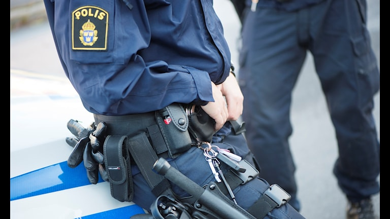 Polis. Foto: Fredrik Sandberg/TT