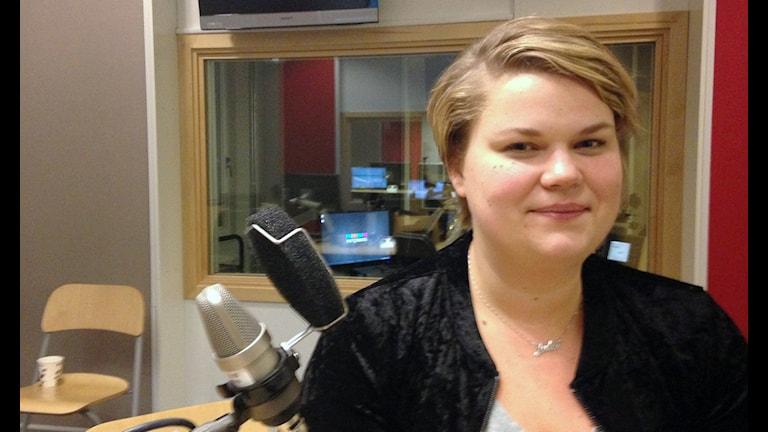 Julia Linander. Foto: Lovisa Waldeck/Sveriges Radio