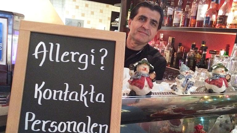 Gabriel Malki, restaurang St George. Foto: Christian Ströberg.