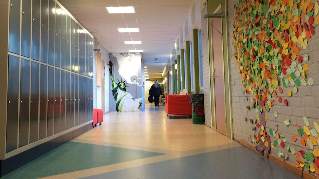 Skola. Foto: Christian Ströberg/Sveriges Radio.