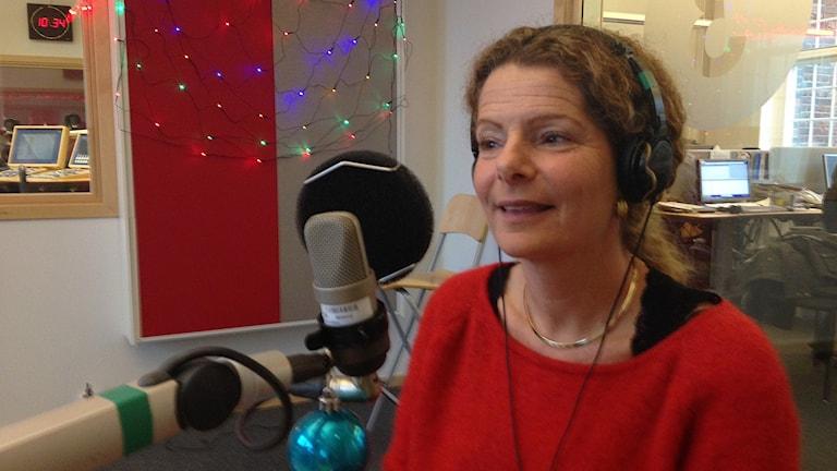 Cilla Benkö, vd Sveriges Radio. Foto: Lovisa Waldeck/Sveriges Radio