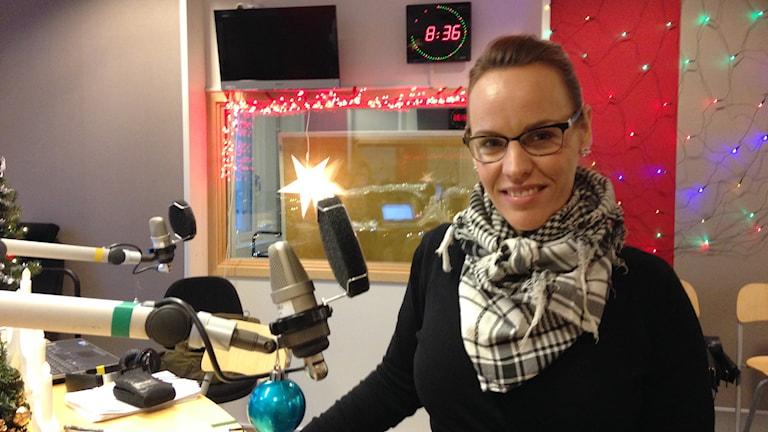 Annie Pilemalm. Foto: Lovisa Waldeck/Sveriges Radio