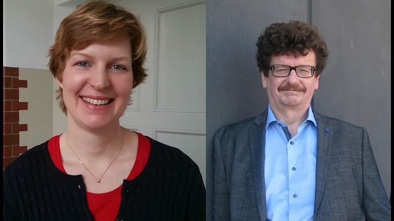 Karin Granbom Ellison (L) och Lars Stjernkvist (S) efterlyser enklare regelverk.