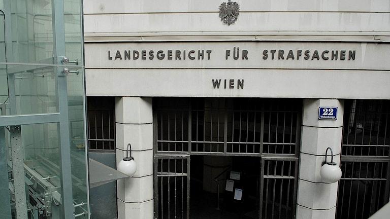 Regionala domstolen för brottsmålsärenden i Wien. Foto: Wienwiki / Vindobohann
