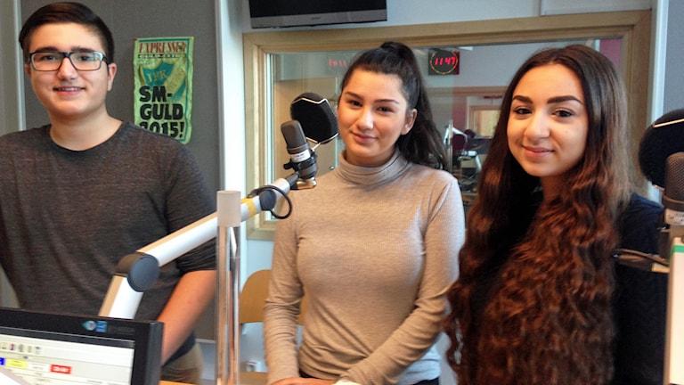 Elvir Mutic, Amela Alyagic och Christina Anti