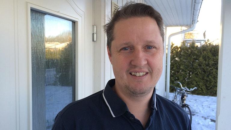 Dennis Platin, rektor Navestadsskolan. Foto: Christian Ströberg/Sveriges Radio.