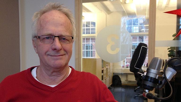 Sven Putkinen, son till  Matti Putkinen. Foto: Lovisa Waldeck/Sveriges Radio