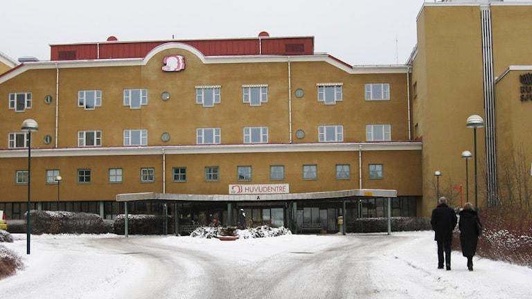 Kullbergska sjukhuset. Foto: Sveriges Radio