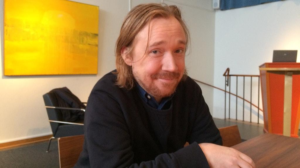 Lars Winnerbäck. Foto: Maria Turdén/Sveriges Radio