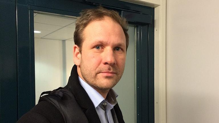 Journalisten Lasse Wierup. Foto: Lisen Elowson Tosting/Sveriges Radio