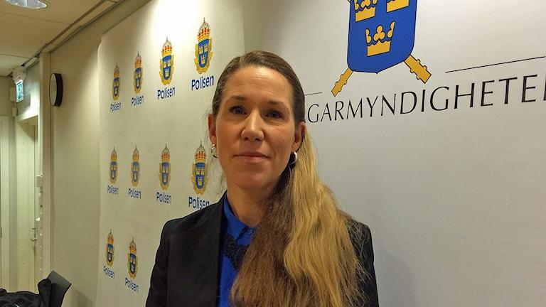 Kammaråklagare Linda Schön vid Åklagarkammaren i Jönköping.
