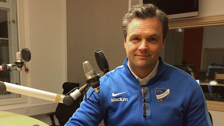 Patrik Selin har bott i Norrköping i snart 15 år. Foto: Stefan Lindeberg/Sveriges Radio