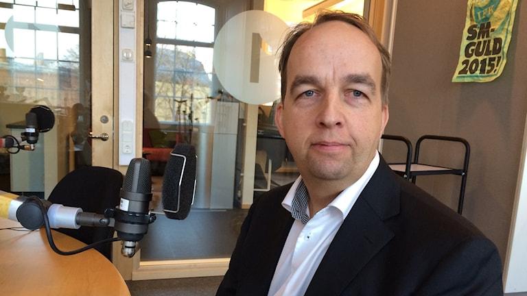 Mats Belin. Foto: Titti Elm/Sveriges Radio