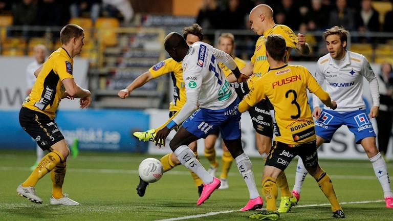 Fotbollsspelare. Foto: Adam Ihse/TT