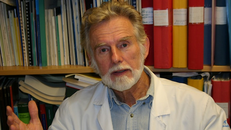 Professor emeritus Johnny Ludvigsson. Foto: Linköpings universitet.