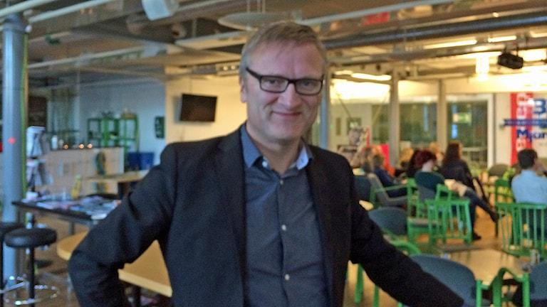 Niklas Myhr, The Social Media Professor, Chapman University. Foto: Rosmari Karlsson/Sveriges Radio