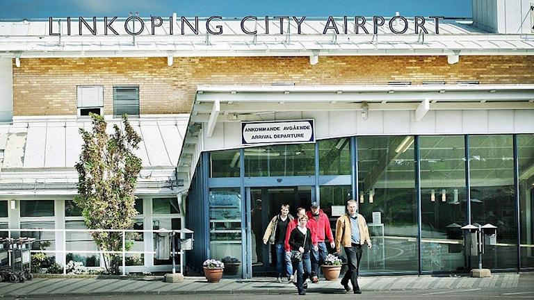 Linköpings flygplats. Foto: Linköpings kommun
