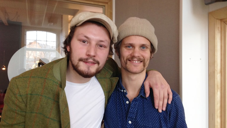 Jens Hult och gitarristen Linus Hasselberg