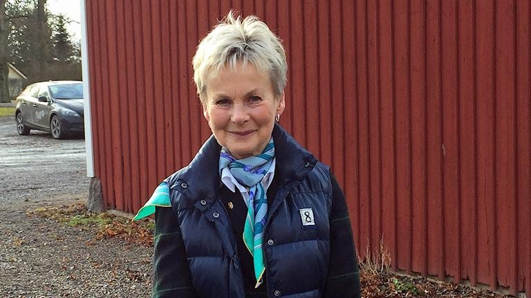 Landshövding Elisabeth Nilsson. Foto: Rosmari Karlsson/Sveriges Radio