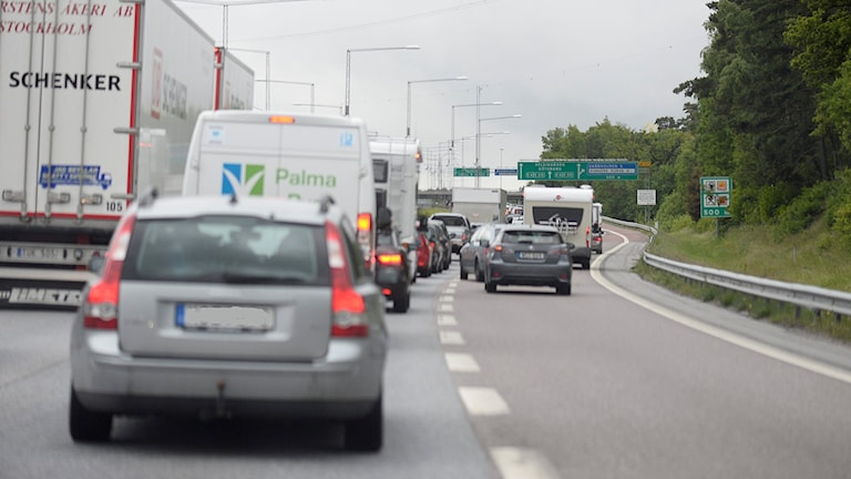 Trafik. Pontus Lundahl/TT