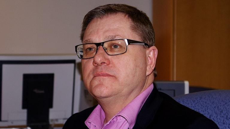 Chefsåklagare Torsten Angervåg. Foto: Tahir Yousef/Sveriges Radio